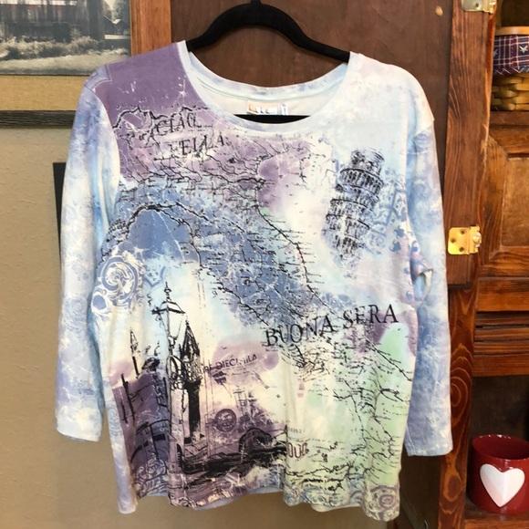 Nicole Miller Italy Shirt 👕 - XL